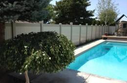 Vinyl Pool Fencing