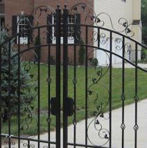 Driveway Gates Wow The Neighborhood