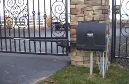 Residential gate operator