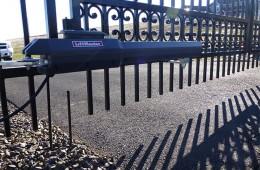 Wrought iron gate operator